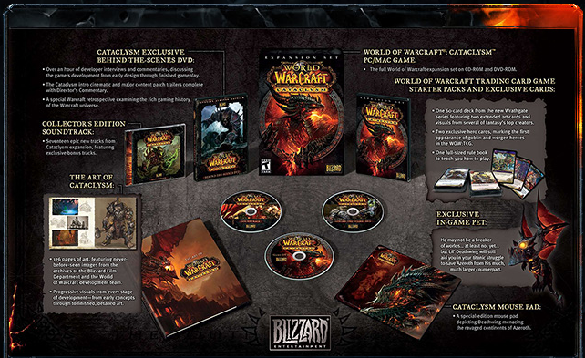 Cataclysm Collector's Edition